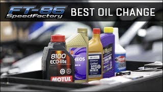 The best way to change the oil on your FRS/BRZ/86
