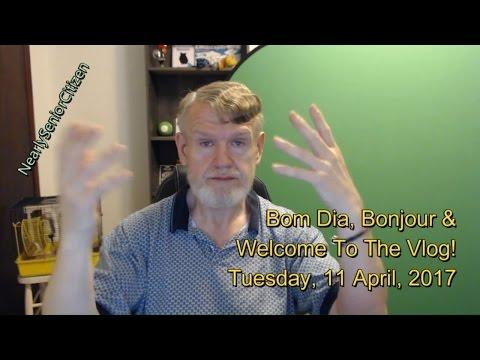 Bom Dia, Bonjour & Welcome To The Vlog! Tuesday, 11 April, 2017