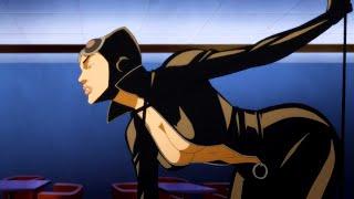 Стриптиз танец Женщины Кошки, мультфильм (Витрина DC :Женщина Кошка)