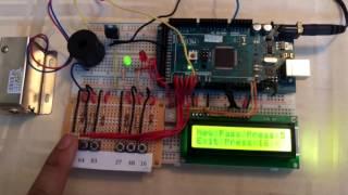 Arduino Digital Combination Lock