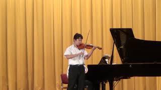 城北祭恒例 [城北のゆかいなソリストたち~男が奏でる音楽会~] アグレッシブな城北生の『真田丸』! Violin. Kio Ito(高校1年) ←キックボクシングやってます Piano.