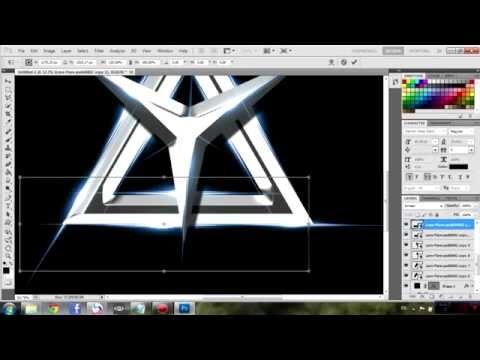 สอนทำ logo เรืองแสง