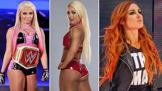 Pelea entre Alexa Bliss y Mandy Rose Buenas noticias Becky Lynch Triple H maneja Smackdown