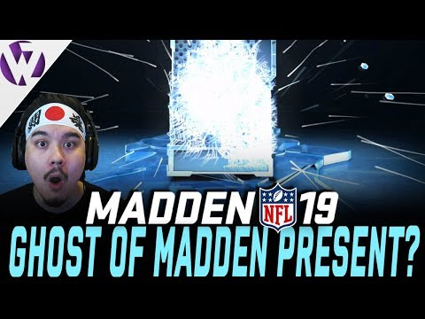 GHOST OF MADDEN PRESENT PULL?! - 50 PRESENTS! - Madden 19 Present Pack Opening!