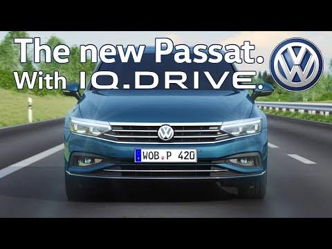 2020 Volkswagen Passat with IQ. Drive Advanced Features
