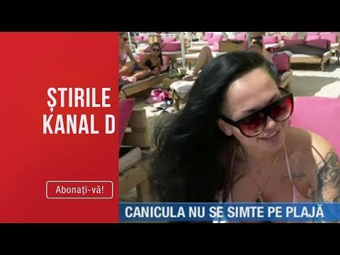 Stirile Kanal D (23.06.2019) - Canicula Nu Se Simte Pe Plaja! Plajele, Mai Aglomerate Ca Niciodata!