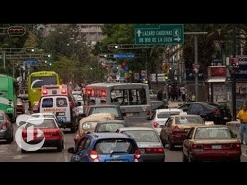 Stuck in a Mexico City Traffic Jam - 2013 | The New York Times