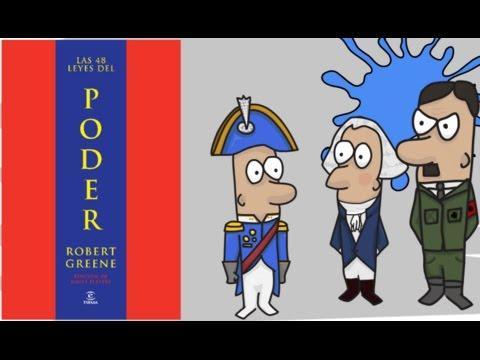 LAS 48 LEYES DEL PODER por ROBERT GREENE - Resumen Animado 1era Parte