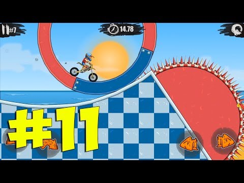MOTO X3M Bike Racing Game - New Update Pool Party Gameplay Walkthrough Part 11 (iOS, Android)