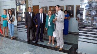 Участники республиканского семинара посетили ГрГУ имени Янки Купалы