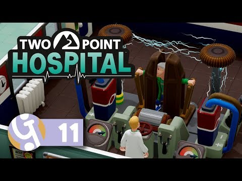 ???? Shock Horror! | Let's Play Two Point Hospital Ep. 11