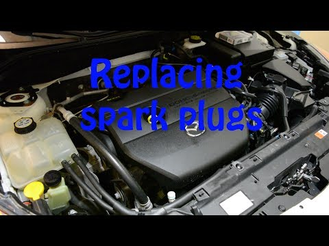 How to Replace Spark Plugs: 2010-2013 Mazda 3 2.5L