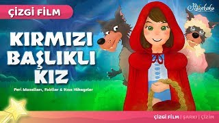 Kırmızı Başlıklı Kız Çizgi Film Türkçe Masal 1 | Adisebaba Çizgi Film Masallar