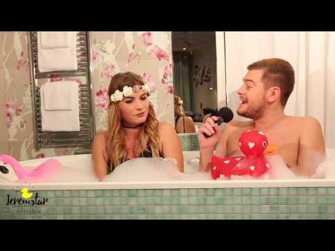 Ludivine (Les Princes de l'Amour 4) dans le bain de Jeremstar - INTERVIEW