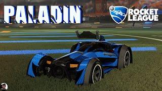 Paladin | Double Goal Field | Car Preview | Rocket League