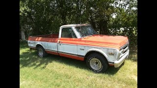 Download 1972 GMC Sierra Grande Left 9 Years W/O Intake Manifold Will It Run? Part 1 Mp3 and Videos