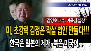 문재인 큰 일났다!! 미국, 초강력 김정은 작살 법안 만들다!!!