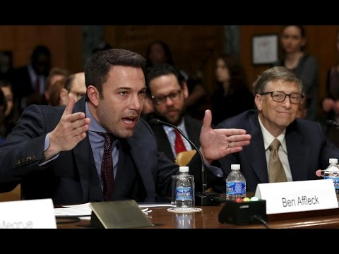 Ben Affleck, Bill Gates Testify on the Necessity of Foreign Aid