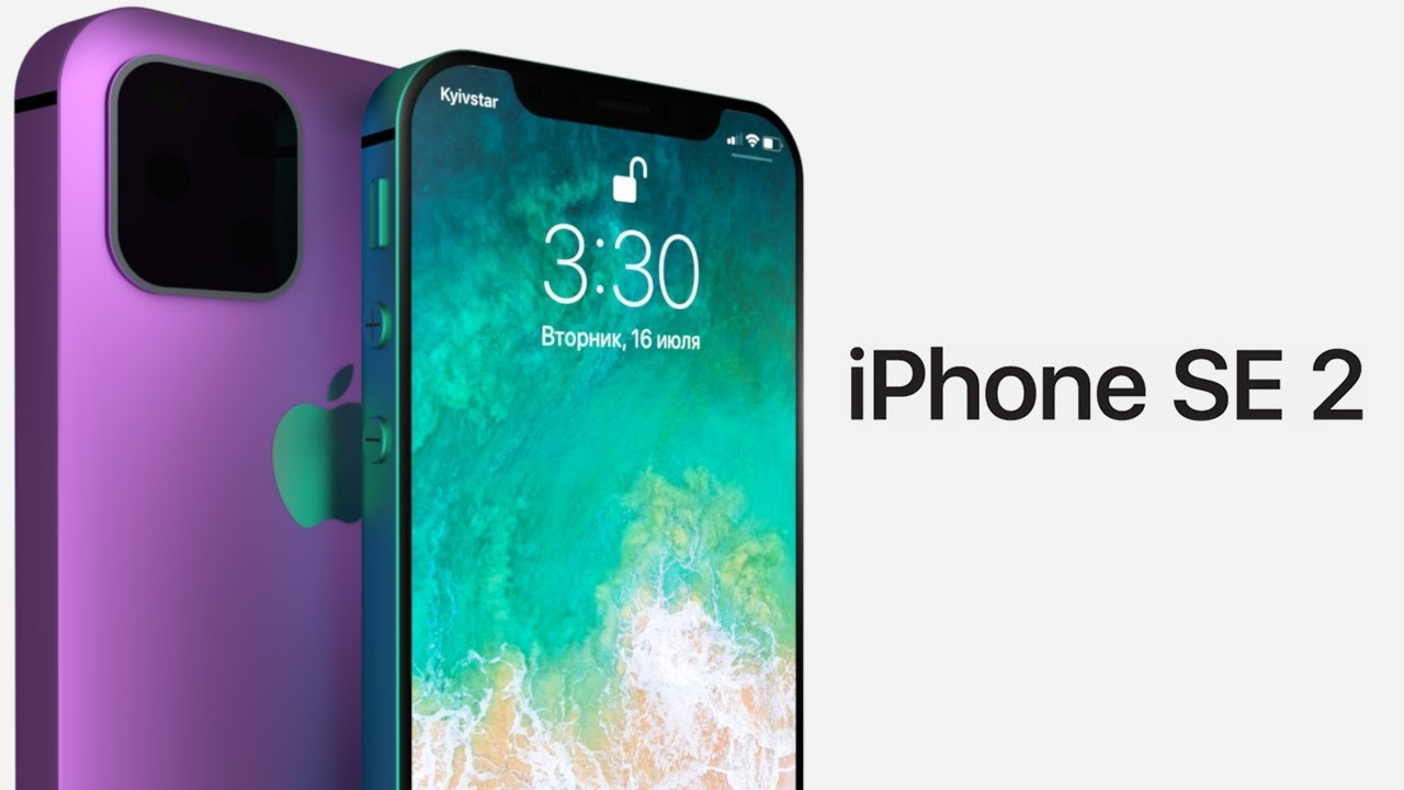 iPhone SE 2 (2019) \u2013 Introduction concept trailer