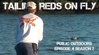 Fly Fishing Tailing Reds in Southwest Florida s Pine Island Sound