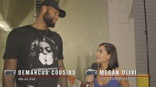 UFC 200: DeMarcus Cousins Celebrity Interview