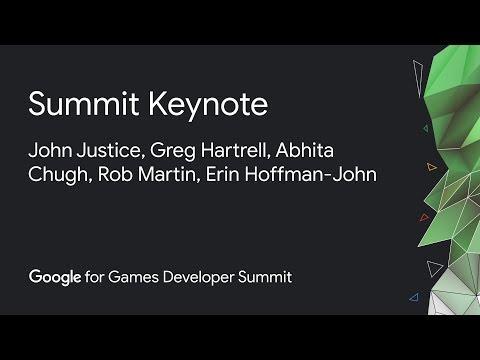 Google For Games Developer Summit Keynote