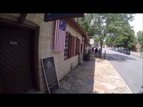 Old Salem, North Carolina - Good place to visit in Winston-Salem while camping in RV