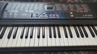 Casio LK-30US - 100 Demo Songs 00 - 19