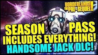 Borderlands The Pre-Sequel: Season Pass Details & Handsome Jack DLC! 1080p Exclusive Footage!