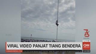 Viral Video Panjat Tiang Bendera, Menpora Akan Undang Bocah Pemanjat Tiang