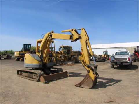 Sold Komatsu PC50UU 2 Hydraulic Mini Excavator Rubber Tracks