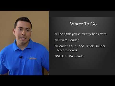 Financing a Food Truck Information By Prestige Food Trucks