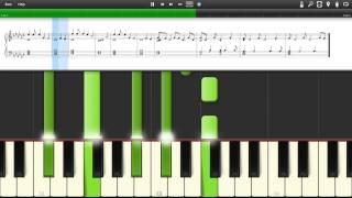 Mirrors Edge - Main Theme - Still Alive (piano Tutorial + Sheet)