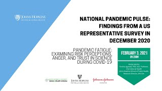 National Pandemic Pulse Round 2, Part 1: Findings from a US Representative Survey in December 2020