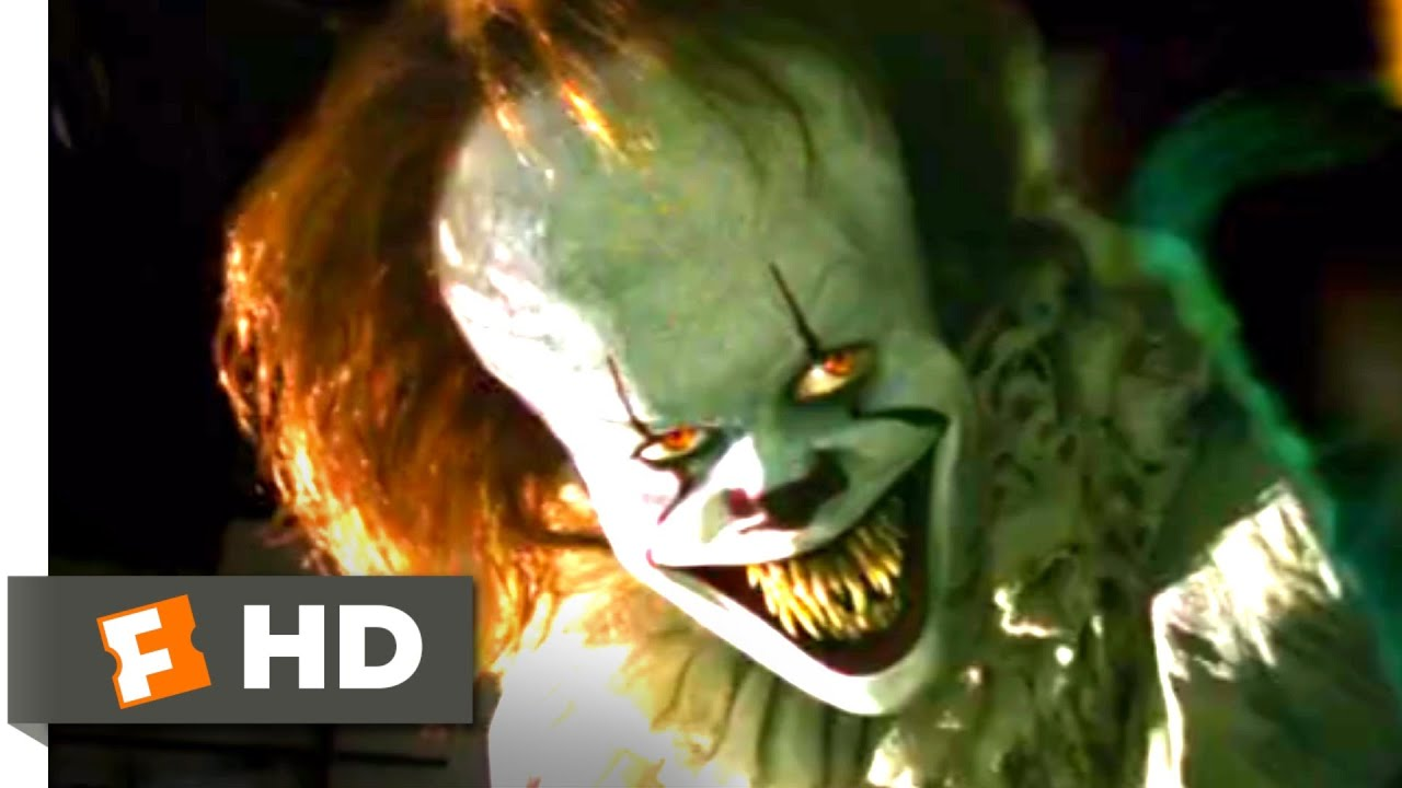 Download It (2017) - Pennywise Projector Scene (7/10)   Movieclips