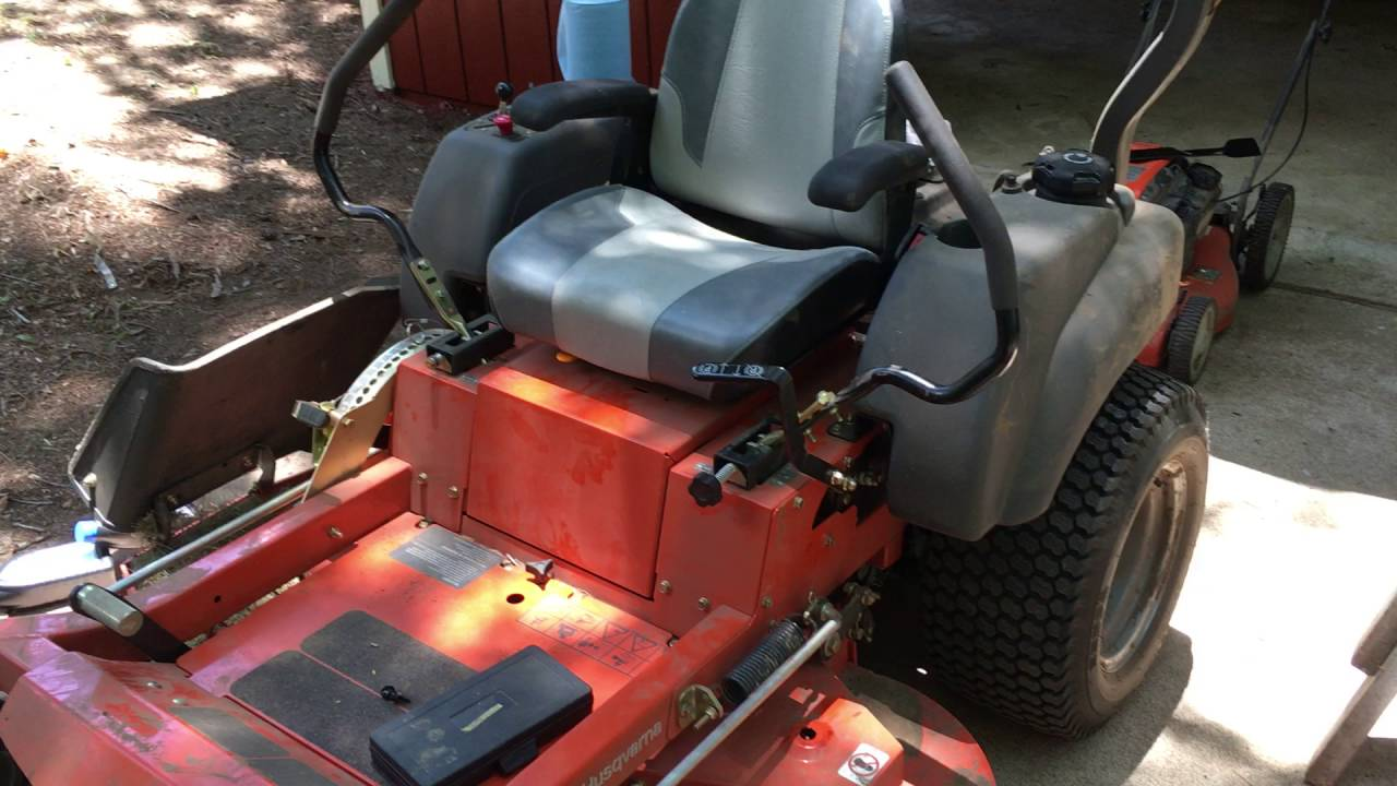 Hustler mower safety switch issues