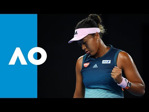 Karolina Pliskova v Naomi Osaka first set highlights (SF) | Australian Open 2019