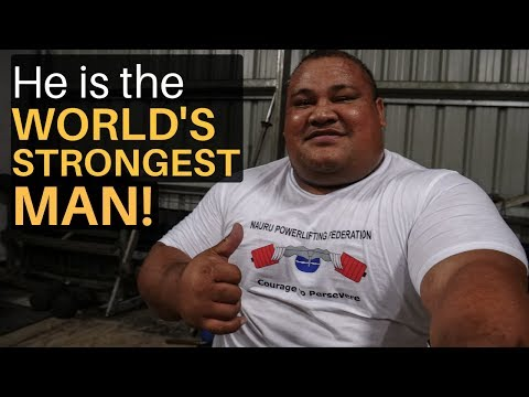 He is the World's Strongest Man!