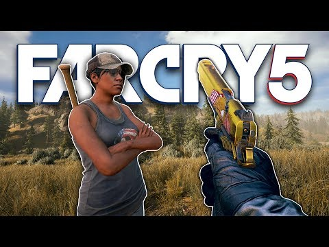 EXTREMELY ANGRY VILLAGERS! (Far Cry 5) thumbnail
