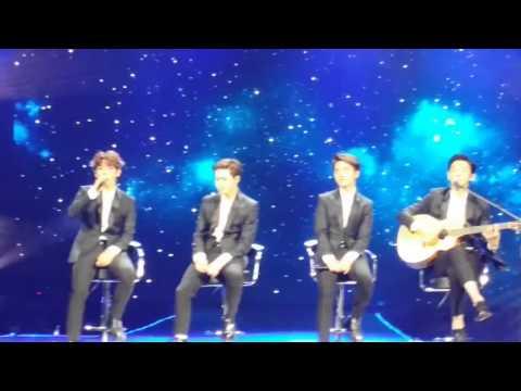 Fancam  EXO K(엑소 K)  Sabor a mi    Musicbank in mexico(30 .10. 2014)