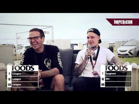 Top Three with The Amity Affliction