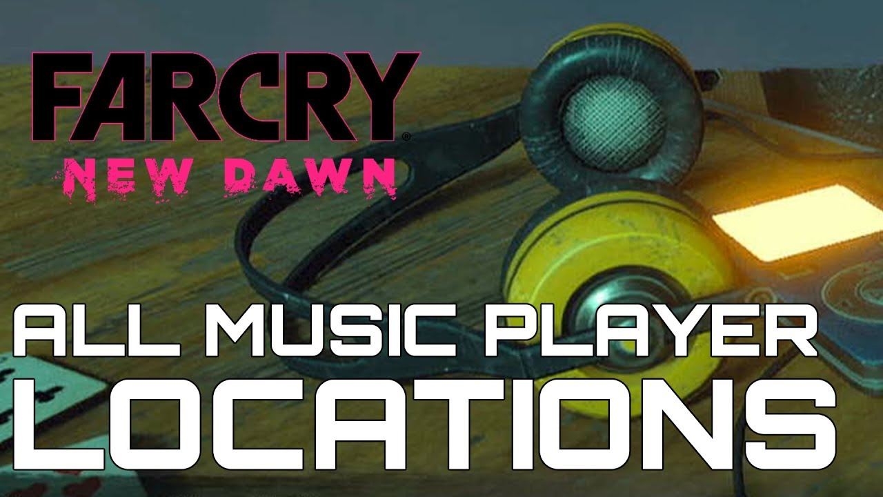 Far Cry New Dawn All 10 Music Player Locations Audiophile Trophy