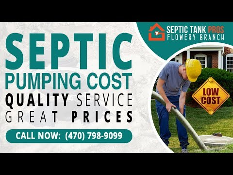 Septic Pumping Cost in Barberton