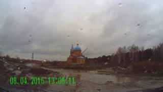 г.Новосибирск. Дорога Барышево - Первомайка (КСМ)