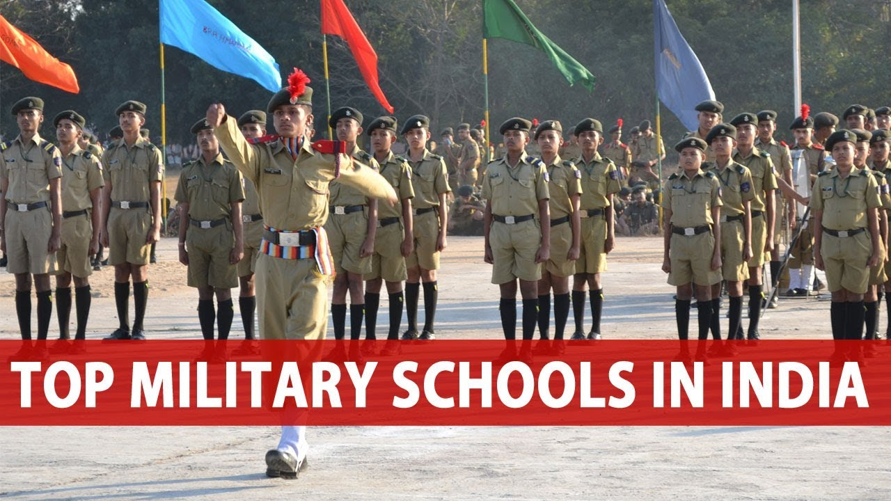 Top Military Schools In India Youtube