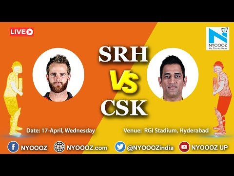 Live IPL 2019 Match 33 Discussion: SRH vs CSK | Target For Sunrisers Hyderabad Is 133