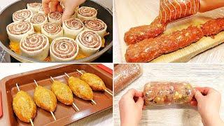 ЗАГОТАВЛИВАЮ ЗАМОРАЖИВАЮ ЭКОНОМЛЮ 5 рецептов мясных блюд