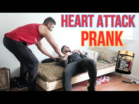 PRE WORKOUT HEART ATTACK PRANK GONE WRONG! (Called 911)