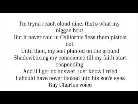 Kendrick Lamar- faith (lyrics)