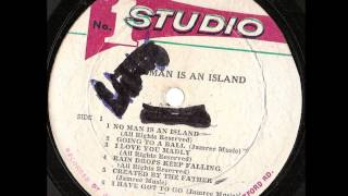 Dennis Brown ‎-- No Man Is An Island   Studio One ‎-- SOL 01112 1970 full album